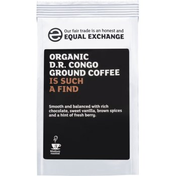 Equal Exchange Organic D R Congo Roast & Ground Coffee - 227g