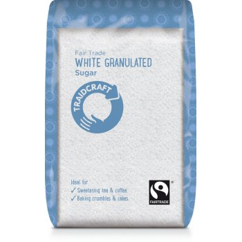 Traidcraft Fair Trade White Granulated Sugar - 500g