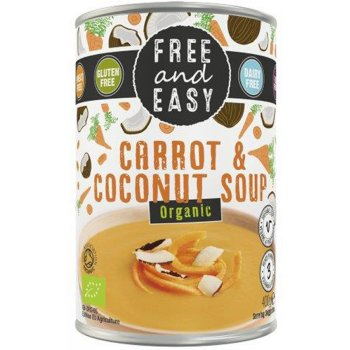Free & Easy Organic Carrot & Coconut Soup - 400g