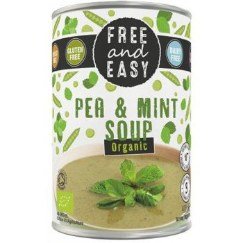 Free & Easy Organic Pea And Mint Soup - 400g