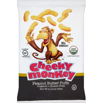 Cheeky Monkey Peanut Butter Puffs - 60g