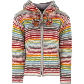 Womens Hoxton Stripe Hooded Jacket - Multi Coloured