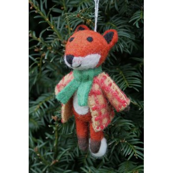 Hanging Christmas Tree Decoration - Mr Fox