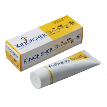 Kingfisher Childrens Toothpaste - Strawberry - 75ml