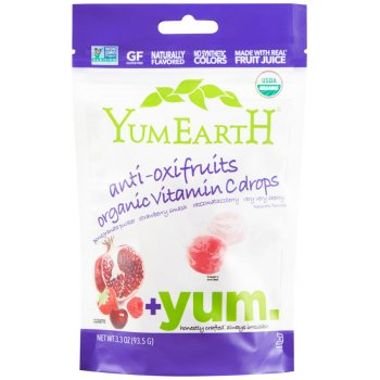 YumEarth Organic Anti-Oxifruits Vitamin C Drops - 93.5g