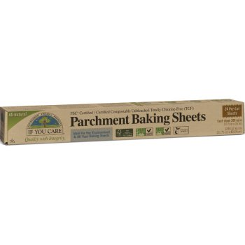 If You Care Compostable Unbleached Parchment Baking Sheets