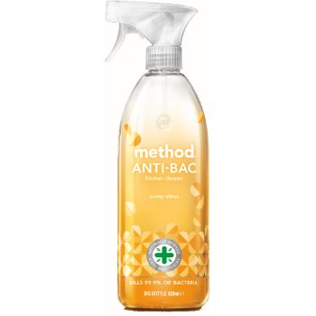Method Anti-Bac Surface Cleaner - Sunny Citrus - 828ml