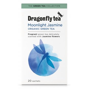 Dragonfly Teas Organic Moonlight Jasmine Green Tea - 20 Bags