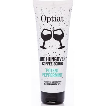 Optiat Potent Peppermint Coffee Scrub - 220g