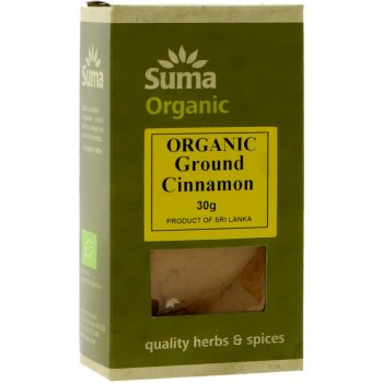 Suma Organic Cinnamon Ground 30g
