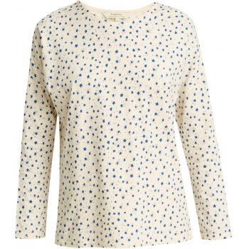 People Tree Organic Long Sleeve Pyjama Top - Stars