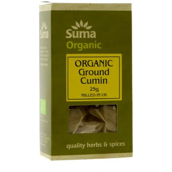 Suma Organic Cumin Ground 25g