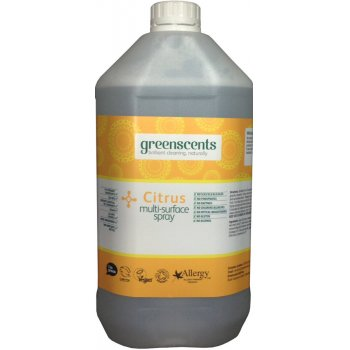 Greenscents Surface Spray Citrus 5L