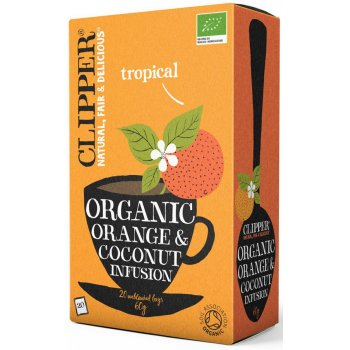 Clipper Orange & Coconut Tea 20 Bags