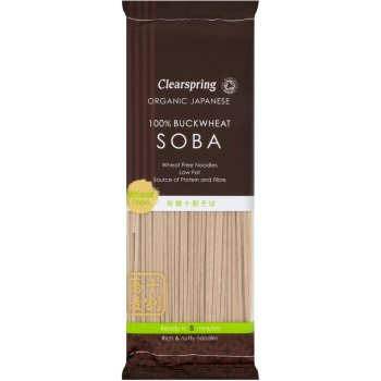Clearspring All Buckwheat Soba Noodles 200g