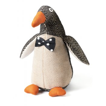 Posh Percy Penguin Doorstop