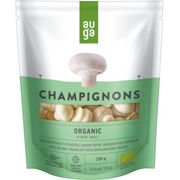 Auga Organic Whole Champignons In Brine - 250g