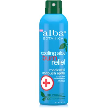 Alba Botanica Cooling Aloe Burn Relief Medicated Spray - 177ml