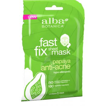 Alba Botanica Papaya Anti-Acne Sheet Mask