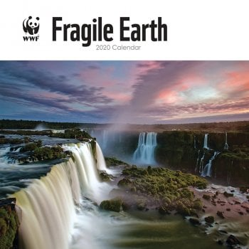 WWF Fragile Earth 2020 Wall Calendar