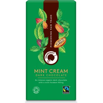 Traidcraft Fairtrade Organic Dark Chocolate with Mint Filling - 100g