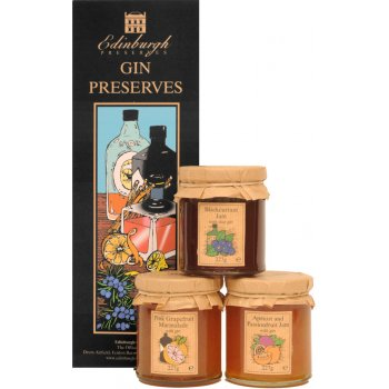 Edinburgh Preserves Gin Preserves Gift Set