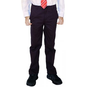 Boys Classic Fit Trousers - Black - 3yrs