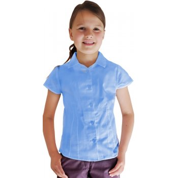 Blue Short Sleeve Blouse - 10yrs