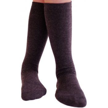 Organic Cotton Grey Knee High Socks