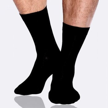 Boody Mens Everyday Socks - Black