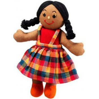 Lanka Kade Girl Doll - Brown Skin & Black Hair