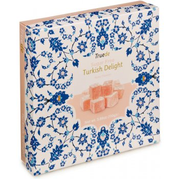 Truede Sugar Free Turkish Delight - Rose - 110g