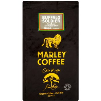 Marley  Buffalo Soldier Dark Roast Ground Coffee - 227g
