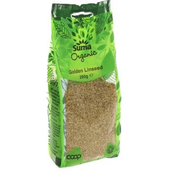 Suma Prepacks Organic Golden Linseed 250g