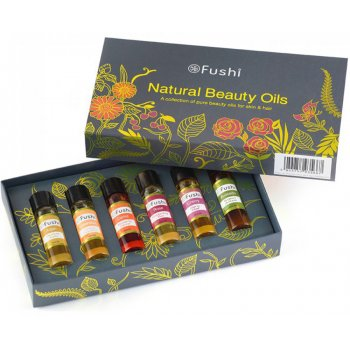 Fushi Natural Beauty Oils Gift Set - 6 x 10ml