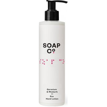 The Soap Co Geranium & Rhubarb Eco Hand Lotion - 300ml