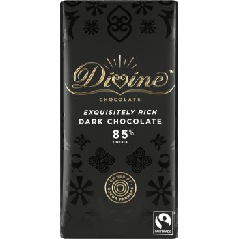 Divine 85 percent  Dark Chocolate - 90g