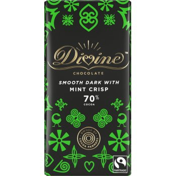Divine Mint Dark Chocolate - 90g