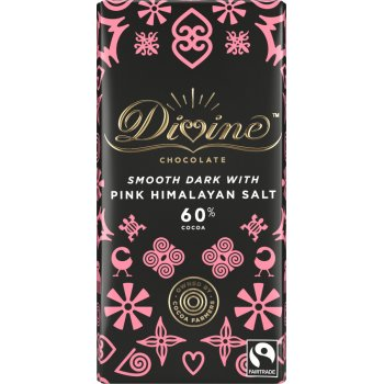 Divine Dark Chocolate with Pink Himalayan Salt - 90g