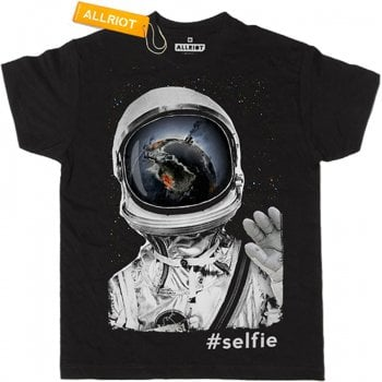 All Riot My Last Selfie Ever Organic T-Shirt