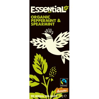 Essential Trading Organic Peppermint & Spearmint Tea - 20 bags