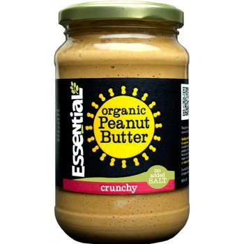 Essential Trading Crunchy Peanut Butter - No Added Salt - 350g