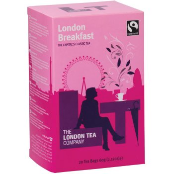 London Tea Company Fairtrade London Breakfast  Tea - 20 bags