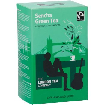 London Tea Company Fairtrade Sencha Green Tea - 20 bags