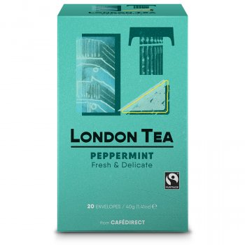 London Tea Company Fairtrade Pure Peppermint Tea - 20 bags