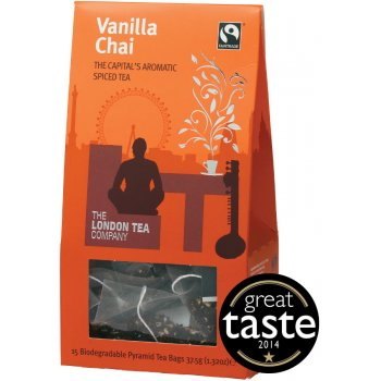 London Tea Company Fairtrade Vanilla Chai Pyramid Tea - 15 bags