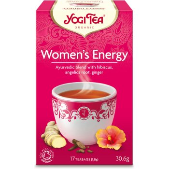 Yogi Organic Womens Energy Tea - 17 Bags