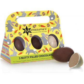 Montezumas Nutty Filled Chocolate Eggs - 140g