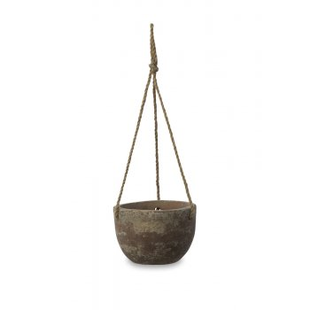 Affiti Clay Hanging Planter - Small