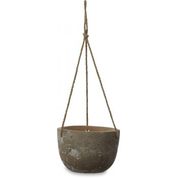 Affiti Clay Hanging Planter - Large